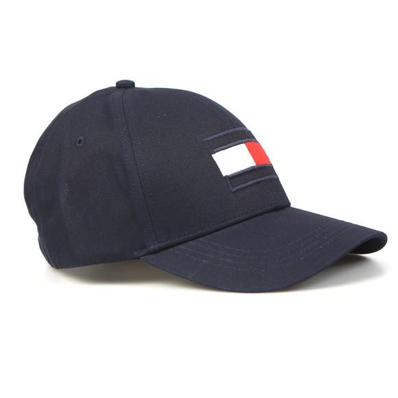 Tommy Hilfiger Mens Blue Big Flag Cap
