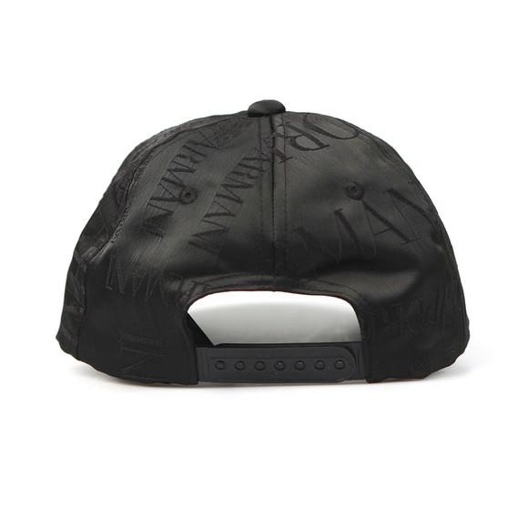 Emporio Armani Mens Black Logo Cap main image