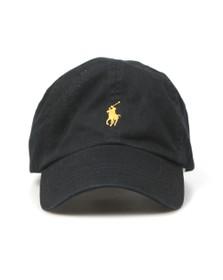 Polo Ralph Lauren Mens Black Classic Sport Logo Cap