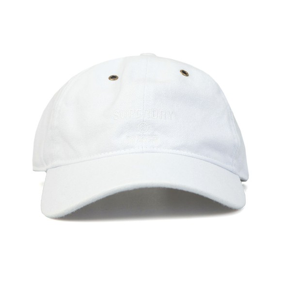 Superdry Womens White Eyelet Cap