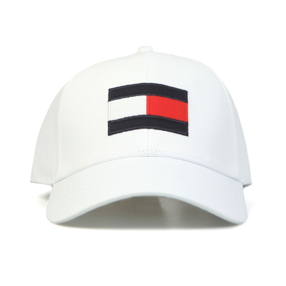 Tommy Hilfiger Mens White Big Flag Cap
