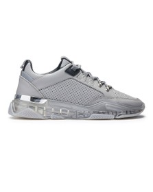 Mallet Mens Grey Elmore Clear Trainer