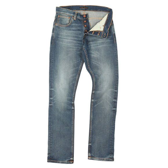 Nudie Jeans Mens Worn In Broken Grim Tim Jeans