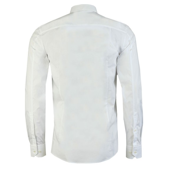 HUGO Mens White Elisha02 Long Sleeve Shirt main image