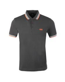 BOSS Mens Grey Athleisure Paddy Polo Shirt