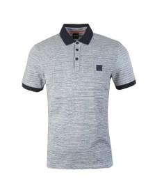 BOSS Mens Blue Casual Pself Polo Shirt