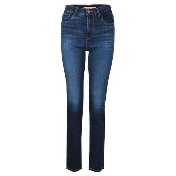 Levi's Womens Carbon Dust 724 High Rise Straight Jean