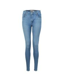Levi's Womens Blue 720 High Rise Super Skinny Jean
