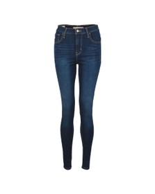 Levi's Womens Blue 720 High Rise Super Skinny Jean