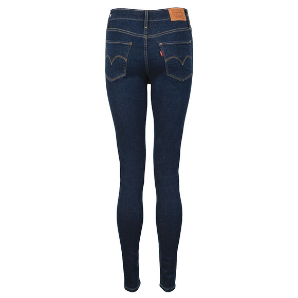 Levi's Womens Blue 720 High Rise Super Skinny Jean main image