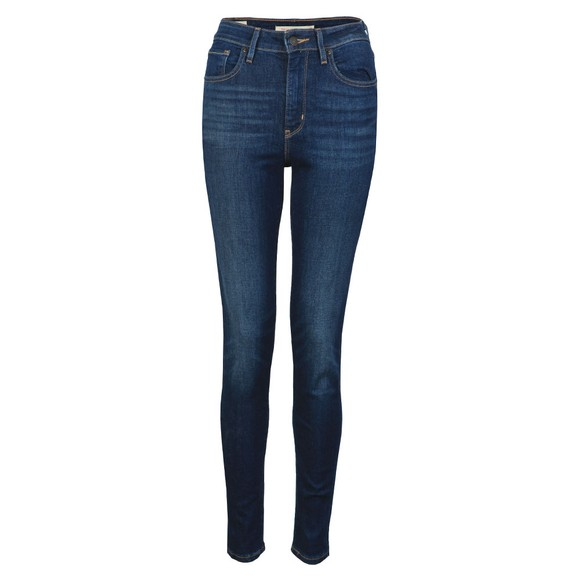 Levi's Womens Blue 721 High Rise Skinny Jean