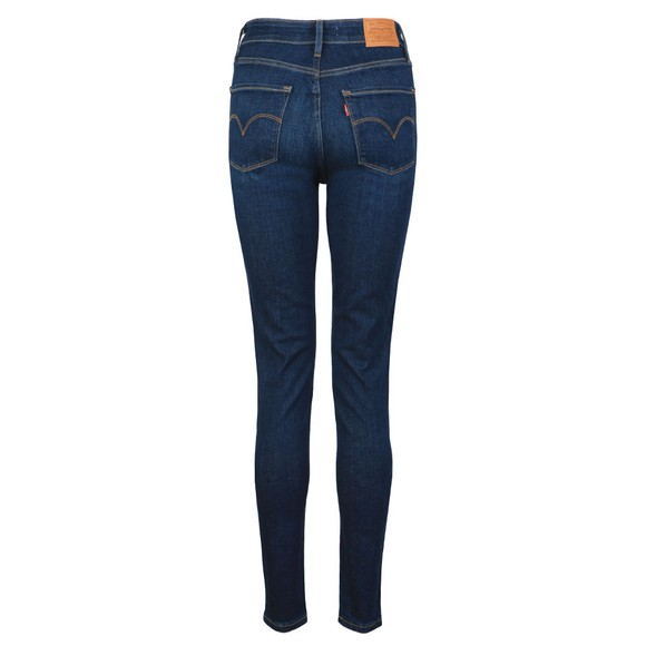 Levi's Womens Blue 721 High Rise Skinny Jean main image