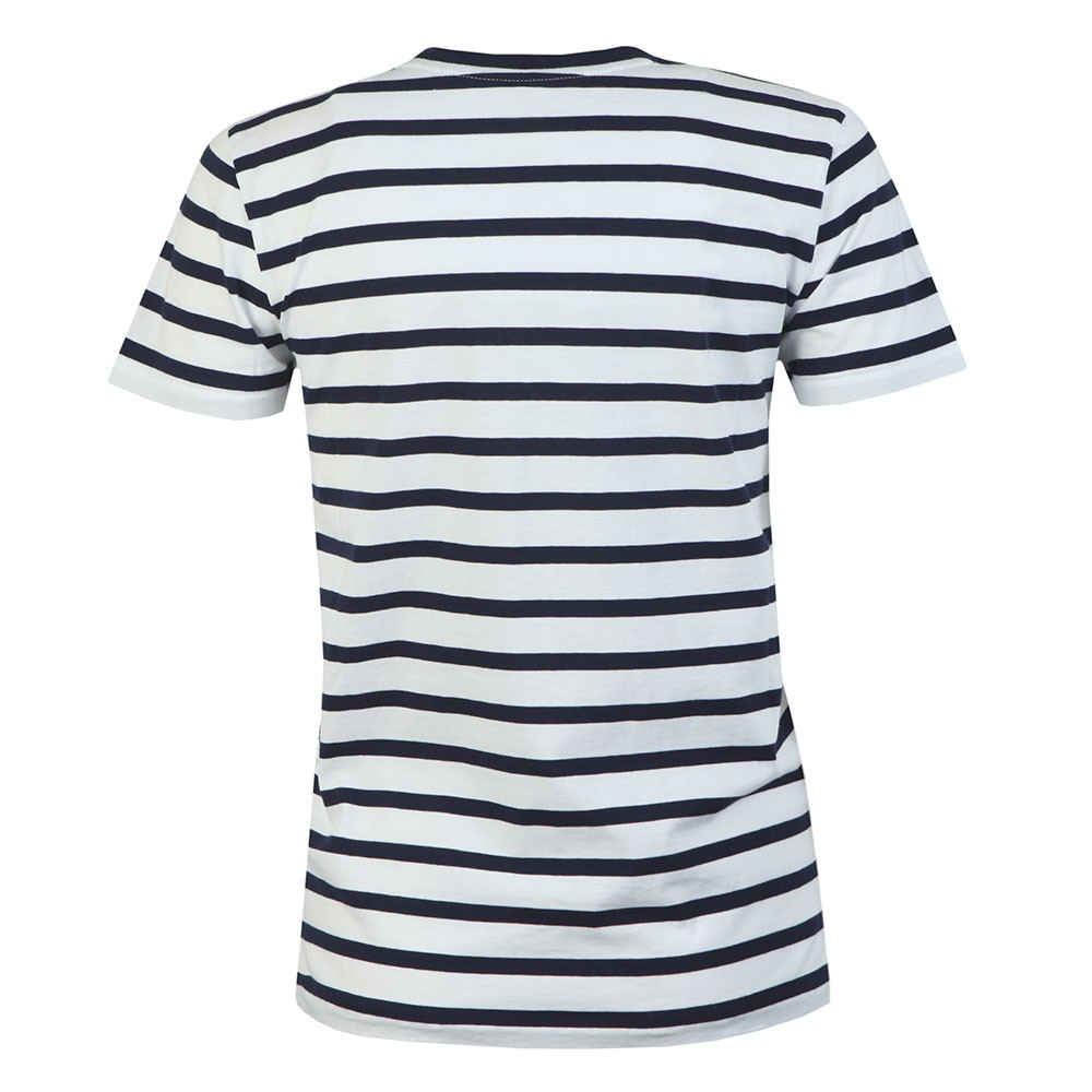 Embroidered Polo Stripe T Shirt main image