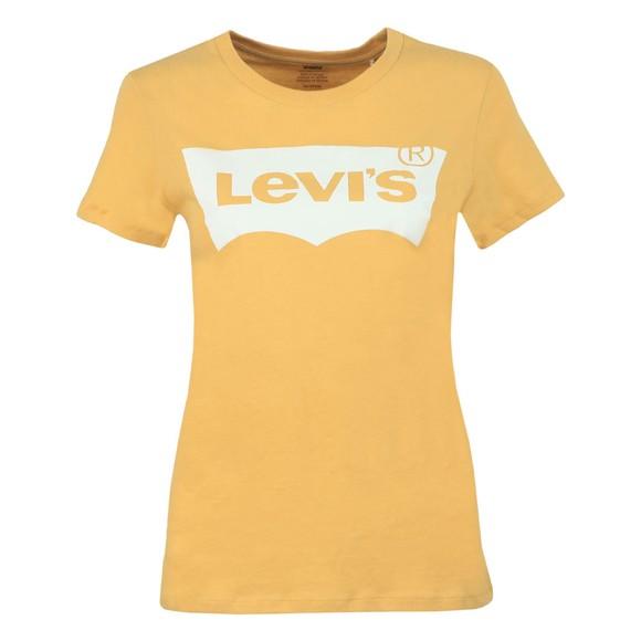 Levi's Womens Yellow Perfect Logo T Shirt main image