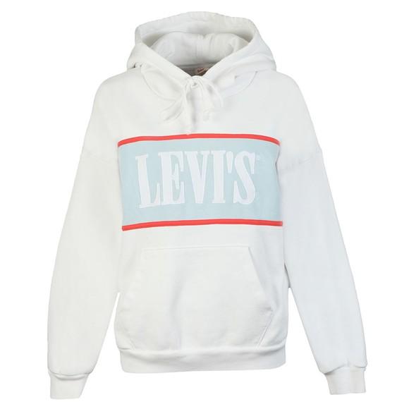 Levi's Womens White Cameron Hoodie