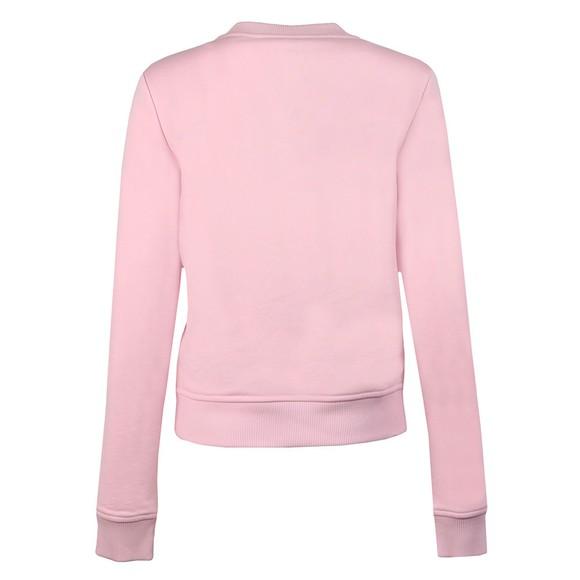 Love Moschino Womens Pink Stelline Sweatshirt main image