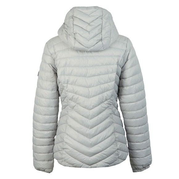 Barbour International Womens Grey Ringside Quilted Jacket main image