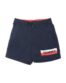 Tommy Hilfiger Kids Boys Blue Medium Drawstring Short