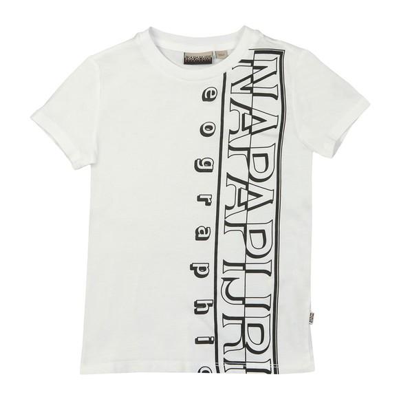 Napapijri Boys White K Seri T Shirt