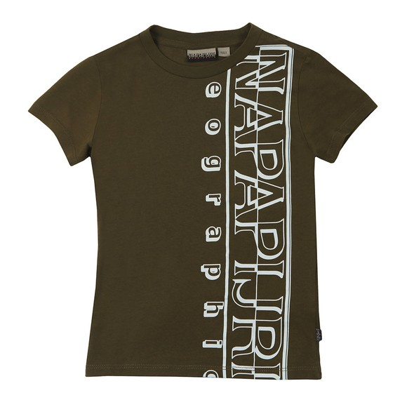 Napapijri Boys Green K Seri T Shirt main image