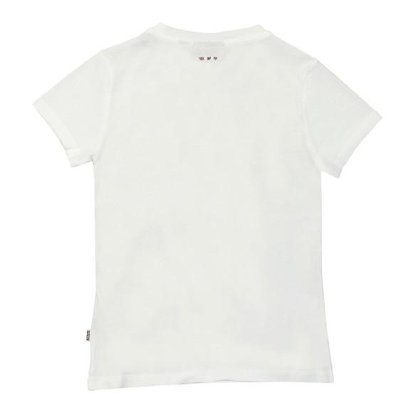 Napapijri Boys White K Soli T Shirt main image