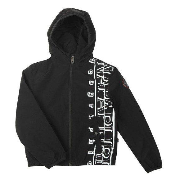 Napapijri Boys Black K Alu Jacket main image