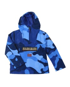Napapijri Boys Blue K Rainforest Camo Jacket