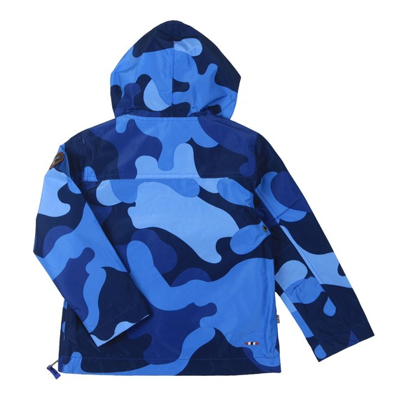 Napapijri Boys Blue K Rainforest Camo Jacket main image