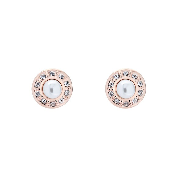 Ted Baker Womens Pink Larchi Daisy Pearl Stud Earring main image