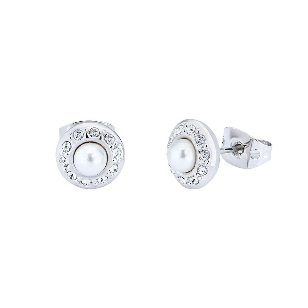 Larchi Daisy Pearl Stud Earring main image