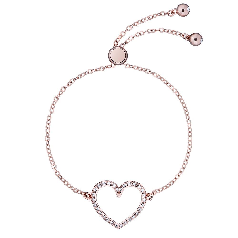 Leazina Luunar Pave Heart Bracelet main image