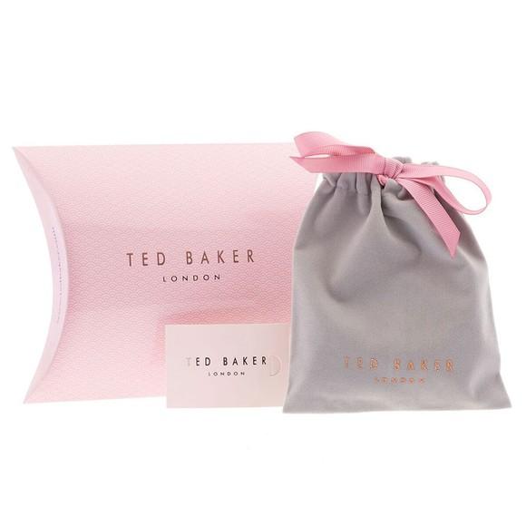 Ted Baker Womens Silver Leazina Luunar Pave Heart Bracelet main image