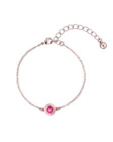 Ted Baker Womens Pink Eisa Enamel Button Bracelet
