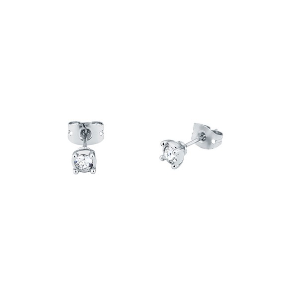 Ted Baker Womens Silver Nenna Nano Sparkle Stud Earring main image