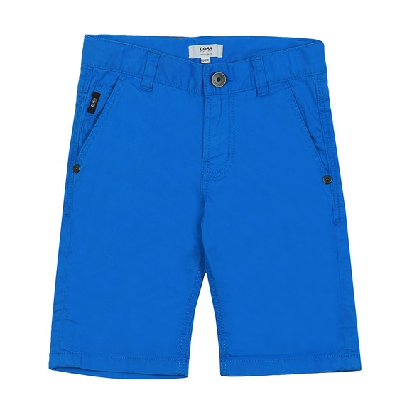 BOSS Boys Blue Bermuda Short