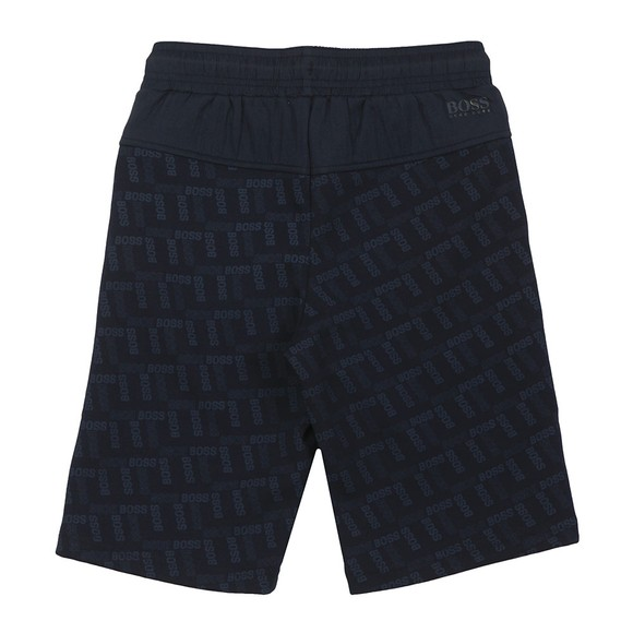 BOSS Boys Blue All Over Track Short