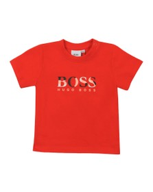 BOSS Baby Boys Orange Short Sleeve T-Shirt