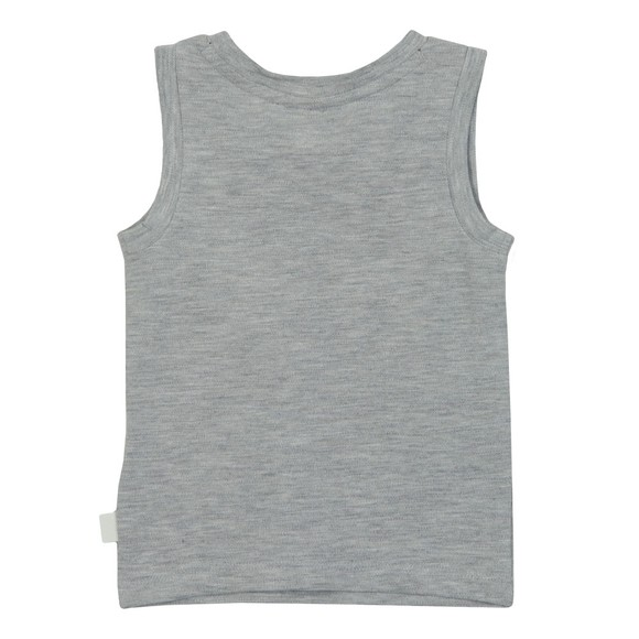 BOSS Baby Boys Grey Tank Top