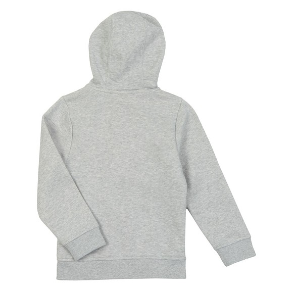 BOSS Boys Grey Full Zip Hoodie