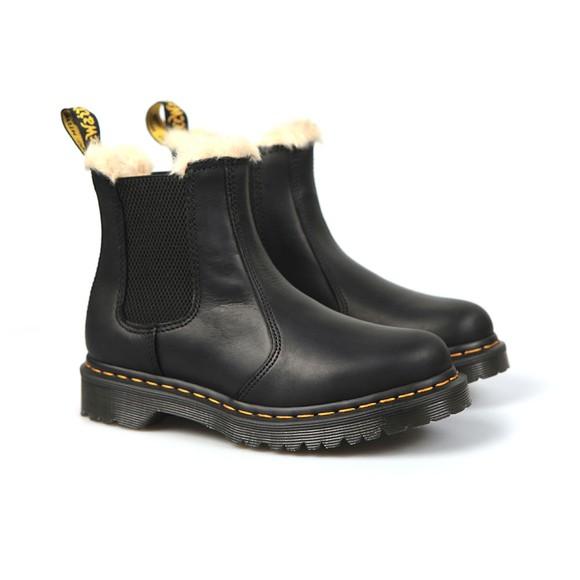 Dr. Martens Womens Black Leonore Boot