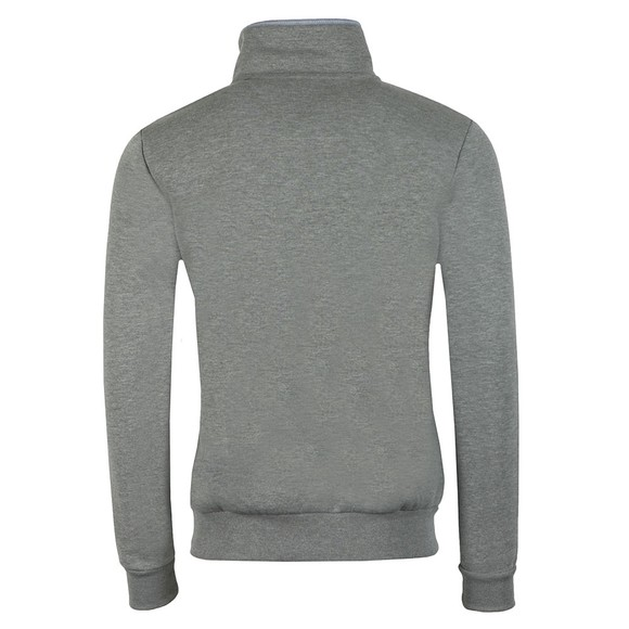 Crew Clothing Company Mens Grey Classic 1/2 Zip main image
