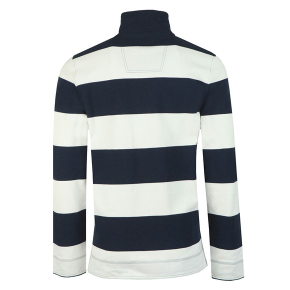 Crew Clothing Company Mens Blue Padstow Pique Sweatshirt main image