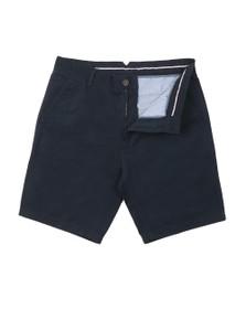 Crew Clothing Company Mens Blue Bermuda Short