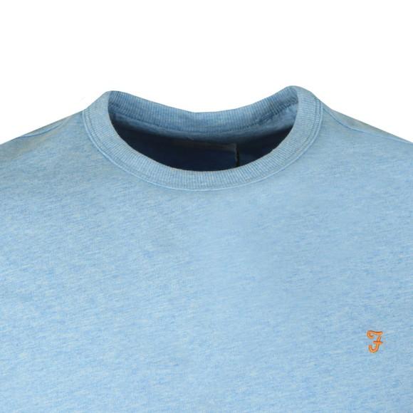 Farah Mens Blue Dennis T-Shirt main image