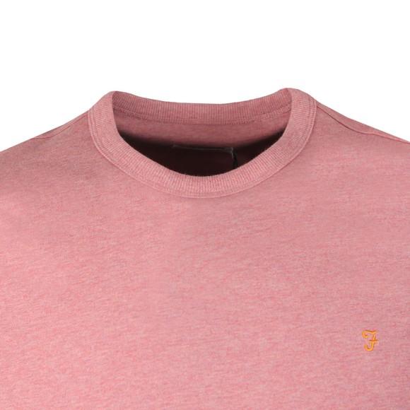 Farah Mens Red Dennis T-Shirt