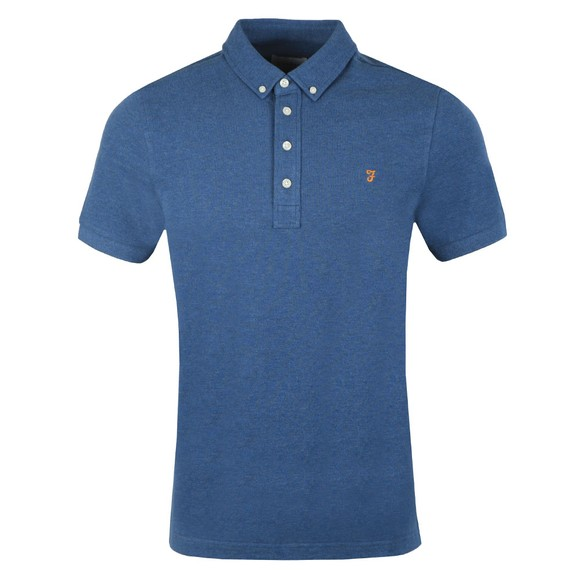 Farah Mens Blue Ricky Polo Shirt