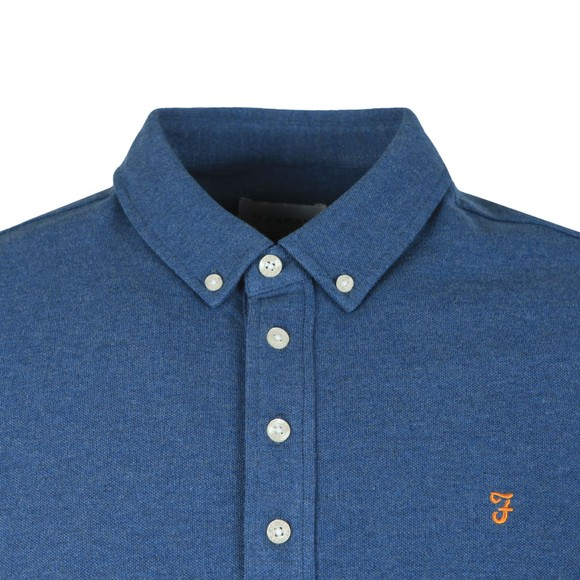 Farah Mens Blue Ricky Polo Shirt main image