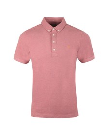 Farah Mens Red Ricky Polo Shirt