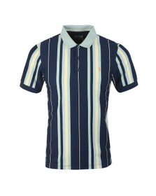 Farah Mens Blue Wigman Polo Shirt