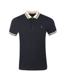 Farah Mens Blue Stanton Polo Shirt
